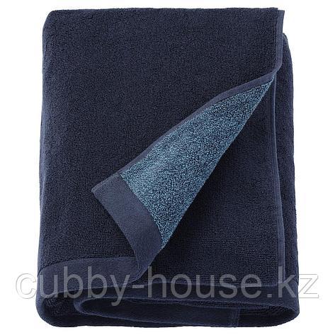 ХИМЛЕОН Простыня банная, темно-синий, меланж, 100x150 см, фото 2
