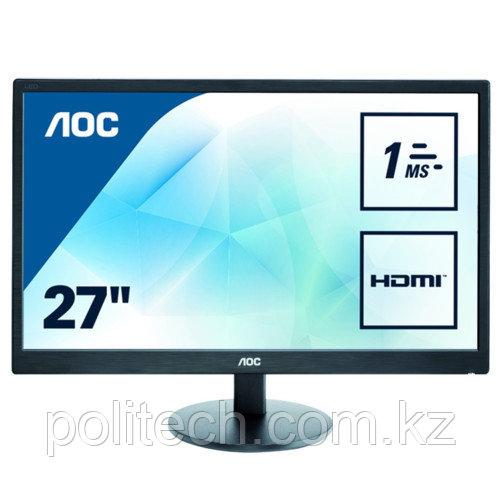 """Монитор AOC Value-line 1920x1080 E2770SH (27 """", 1920x1080, TN)"""