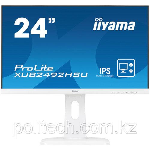 """Монитор IIYAMA XUB2492HSU-W1 (23.8 """", 1920x1080, IPS)"""