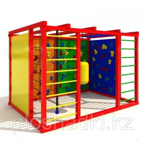 Детский городок, скалодромы, шведские стенки, лестница, кольца гимнастические