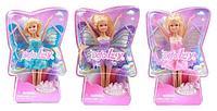8121 Defa Lucy Кукла-бабочка в ассорт 3 вида.