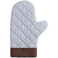 Прихватка-рукавица Keep Palms, серо-голубая, фото 1