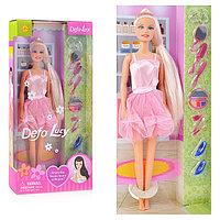 8066 Defa Lucy Кукла Lucy (29см) в парикмахерской, с множеством аксессуаров, в асс. 3 вида