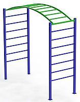 Рукоход детский, синий, зеленый