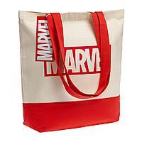 Холщовая сумка Marvel, красная, фото 1