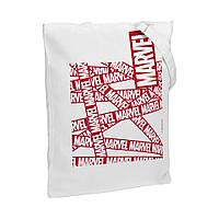 Холщовая сумка Marvel, белая, фото 1