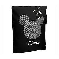 Холщовая сумка «Микки Маус. Oh, Boy», черная, фото 1