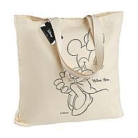 Холщовая сумка «Минни Маус. Lovely», неокрашенная, фото 1