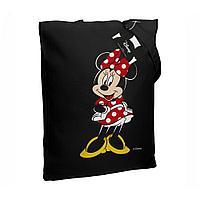 Холщовая сумка «Минни Маус. Couture», черная, фото 1