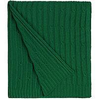 Плед Remit, темно-зеленый, фото 1
