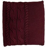 Подушка Stille, бордовая, фото 1