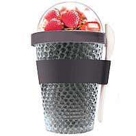 Охлаждающий контейнер Chill Yo 2 Go, серый, фото 1