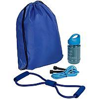 Набор для фитнеса Gym Team, синий