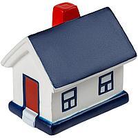 Сквиши-антистресс «Домик», с синей крышей, фото 1