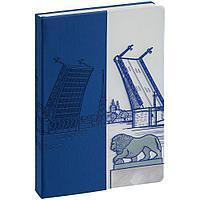 Блокнот «Города. Санкт-Петербург», синий, фото 1