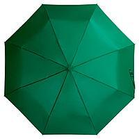 Зонт складной Unit Basic, зеленый, фото 1