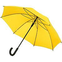 Зонт-трость с цветными спицами Bespoke, желтый, фото 1