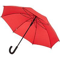 Зонт-трость с цветными спицами Bespoke, красный, фото 1