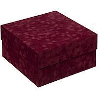 Коробка Velutto, бордовая, фото 1