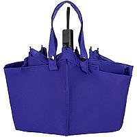Зонт-сумка складной Stash, синий, фото 1