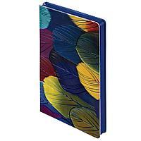 Ежедневник Butterfly Peacock, синий, недатированный