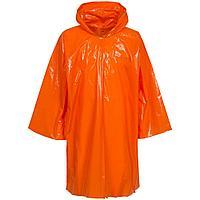 Дождевик-плащ CloudTime, оранжевый, фото 1
