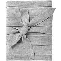 Плед Pleat, светло-серый, фото 1