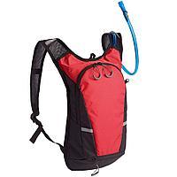 Рюкзак с питьевой системой Vattern, черный с красным, фото 1