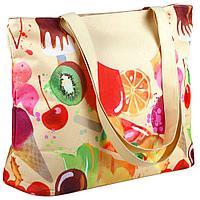 Пляжная сумка «Фруктовое мороженое»
