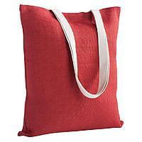Холщовая сумка на плечо Juhu, красная, фото 1