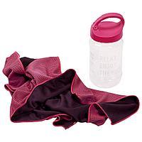 Охлаждающее полотенце Weddell, розовое, фото 1
