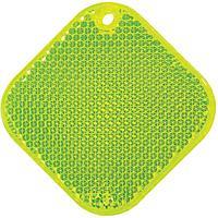 Светоотражатель «Квадрат», неон-желтый, фото 1