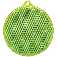 Пешеходный светоотражатель «Круг», зеленый, фото 1