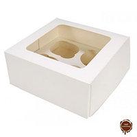 Коробка под капкейки (4 шт)