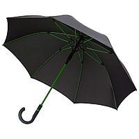 Зонт-трость с цветными спицами Color Style, зеленое яблоко, фото 1
