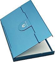 Футляр для визитных и кредитных карточек Stand, голубой, фото 1