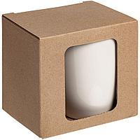 Коробка для кружки Window, крафт
