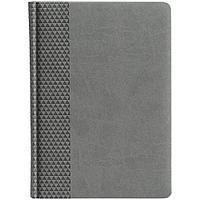 Ежедневник Brand, недатированный, серый, фото 1