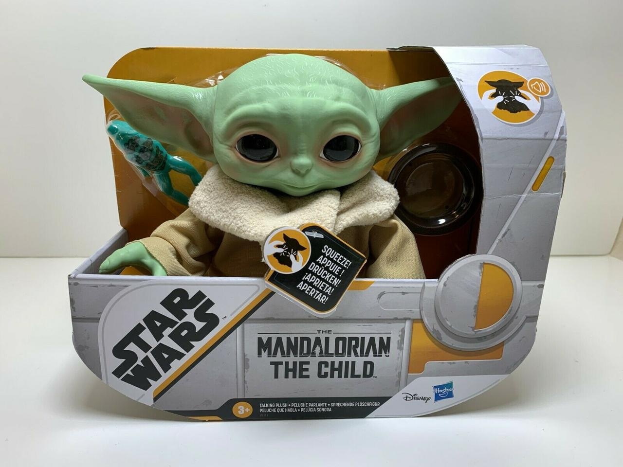 Коллекционная игрушка Hasbro Baby Yoda (Бейби Йода)
