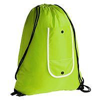 Рюкзак складной Unit Roll, неон-желтый, фото 1