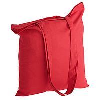 Холщовая сумка Basic 105, красная, фото 1