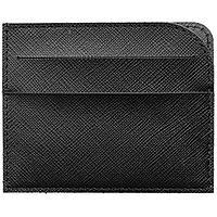 Чехол для карточек Linen, черный, фото 1
