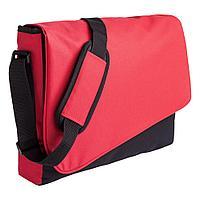 Конференц сумка Unit Messenger, красно-черная, фото 1