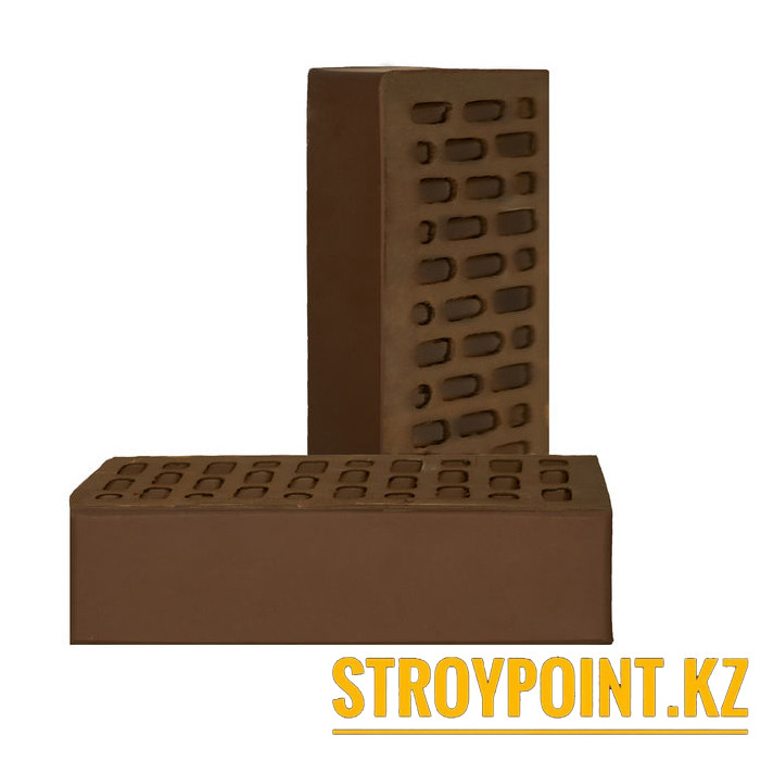 Кирпич облицовочный шоколад Ликолор (Россия)