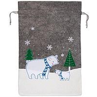 Мешок для подарков Noel, с медведями