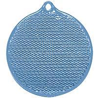 Пешеходный светоотражатель «Круг», синий, фото 1