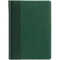 Ежедневник Brand, недатированный, зеленый, фото 1