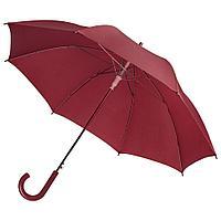 Зонт-трость Unit Promo, бордовый, фото 1