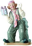 Фигурка «Клоун с подарком»
