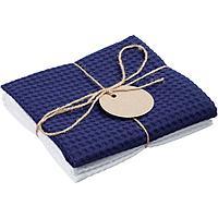 Набор кухонных полотенец Good Wipe, белый с синим, фото 1
